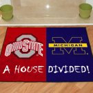 OHIO STATE UNIVERSITY VS UNIVERSITY MICHIGAN RUG MAT