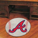 ATLANTA BRAVES MLB BASEBALL TEAM RUG GAME MAT FREE SHIP