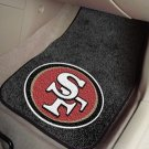 SAN FRANCISCO 49ERS AUTO CAR MATS GAME RUG FREE SHIP