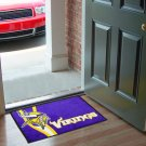 MINNESOTA VIKINGS NFL UNIFORM MAT JERSEY RUG FREE SHIP