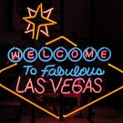 WELCOME LAS VEGAS NEVADA CASINO NEON BAR SIGN FREE SHIP