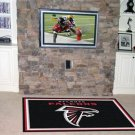 ATLANTA FALCONS NFL FOOTBALL RUG GAME MAT 5x8 FREE SHIP