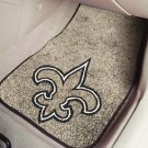NEW ORLEANS SAINTS TRUCK CAR MATS GAME RUG FREE SHIP