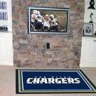 SAN DIEGO CHARGERS  RUG NFL FOOTBALL MAT 4X6 FREE SHIP