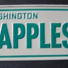 1982 CEREAL BOX BICYCLE STATE LICENSE PLATE WASHINGTON