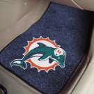 MIAMI DOLPHINS AUTO TRUCK CAR MATS GAME RUG FREE SHIPP