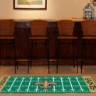 NEW ORLEANS SAINTS TEAM FIELD RUG GAME MAT FREE SHIPPIN