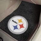 PITTSBURGH STEELERS CAR MATS TRUCK GAME RUG FREE SHIP