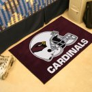 ARIZONA CARDINALS NFL FOOTBALL TEAM HELMET RUG GAME MAT