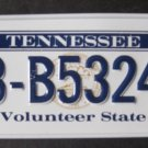1982 POST CEREAL BICYCLE STATE LICENSE PLATE TENNESSEE