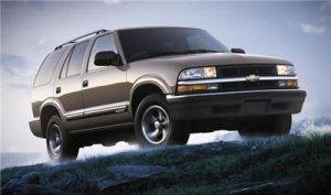 2001 Chevrolet Chevy Blazer SUV Truck Owner Manual Book