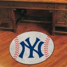 NY NEW YORK YANKEES BASEBALL TEAM MLB AREA RUG GAME MAT