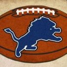DETROIT LIONS FOOTBALL TEAM RUG GAME MAT FREE SHIP