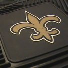 NEW ORLEANS SAINTS FOOTBALL CAR MATS GAME RUG FREE SHIP