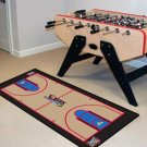 PHILADELPHIA 76ERS BASKETBALL COURT GAME MAT NBA RUG