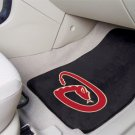 ARIZONA DIAMONDBACKS TEAM TRUCK AUTO CAR MATS GAME RUG