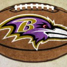 BALTIMORE RAVENS FOOTBALL TEAM RUG GAME MAT FREE SHIP