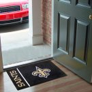 NEW ORLEANS SAINTS NFL UNIFORM RUG JERSEY MAT FREE SHIP