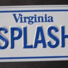 1982 POST CEREAL BICYCLE STATE LICENSE PLATE VIRGINIA
