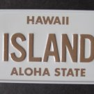 1982 POST CEREAL BOX BICYCLE STATE LICENSE PLATE HAWAII