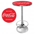 COCA COLA COKE BOTTLE RETRO DINER GAME ROOM PUB TABLE
