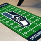 SEATTLE SEAHAWKS FOOTBALL FIELD RUG GAME MAT FREE SHIP