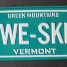 1982 POST CEREAL BICYCLE STATE LICENSE PLATE VERMONT