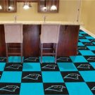 CAROLINA PANTHERS FOOTBALL CARPET GAME RUG FLOOR TILE