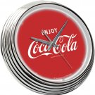 COCA COLA SODA POP COKE BOTTLE LOGO NEON CLOCK SIGN NEW