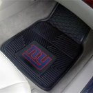 NY NEW YORK GIANTS FOOTBALL CAR MATS GAME RUG FREE SHIP