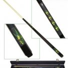 Marijuana Pot Leaf Skull Hemp Pool Table Cue Ball Stick