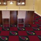 ARIZONA CARDINALS FOOTBALL CARPET GAME RUG FLOOR TILE