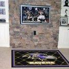 BALTIMORE RAVENS NFL FOOTBALL TEAM AREA RUG GAME MAT