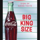 COCA COLA COKE SODA POP BOTTLE DINER BAR MIRROR SIGN