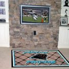 CAROLINA PANTHERS FOOTBALL TEAM AREA RUG GAME MAT 5 X 8