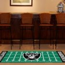 OAKLAND RAIDERS FOOTBALL FIELD RUG GAME MAT FREE SHIP