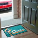 MIAMI DOLPHINS UNIFORM MAT JERSEY GAME RUG FREE SHIPPIN