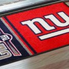 NEW YORK GIANTS TEAM UNIFORM RUG JERSEY MAT FREE SHIPP