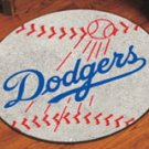 LA LOS ANGELES DODGERS BASEBALL RUG GAME MAT FREE SHIP