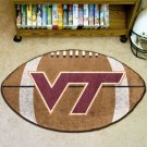VIRGINIA TECH HOKIES FOOTBALL RUG GAME MAT FREE SHIPPIN