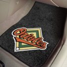 BALTIMORE ORIOLES MLB TRUCK CAR MATS GAME RUG FREE SHIP