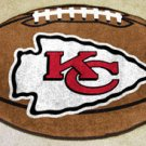KANSAS CITY CHIEFS FOOTBALL TEAM RUG GAME MAT FREE SHIP