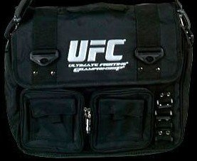 UFC Ultimate Fighting Cage Messenger Book Tote Bag New
