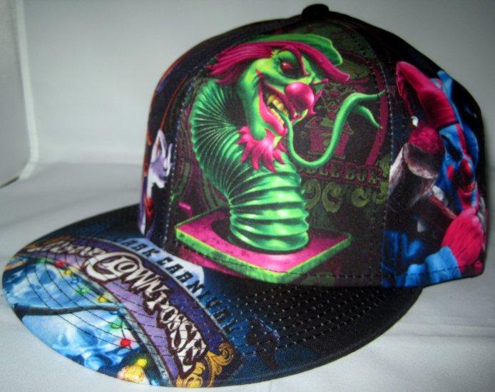 Insane Clown Posse ICP Rap Concert Dark Carnival Baseball Hat Cap L/XL