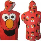 Sesame Street Elmo Hooded Bath Beach Cotton Towel Robe