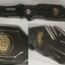 Law Enforcement Police Badge Cop Seat Belt Glass Break Rescue Knife