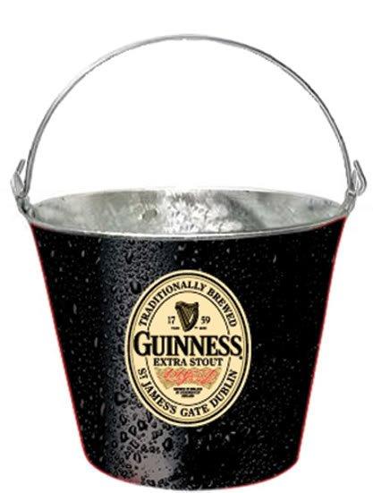 Guinness Irish Extra Stout Beer Bottle Metal Ice Bucket Pail
