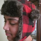 Dickies Work Wear Clothes Buffalo Trapper Trooper Checkered Winter Hat