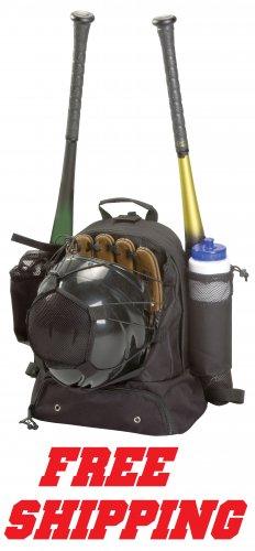 Baseball Equipment Backpack Bat Glove Helmet Carry Bag