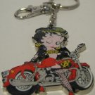 Biker Betty Boop Harley Motorcycle Rider Key Chain Ring Fob